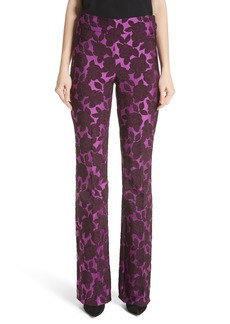 Lela Rose Sam Jacquard Pants