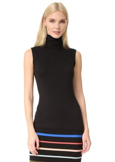 Lela Rose Sleeveless Turtleneck