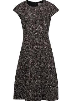 Lela Rose Woman Blair Jacquard Dress Merlot