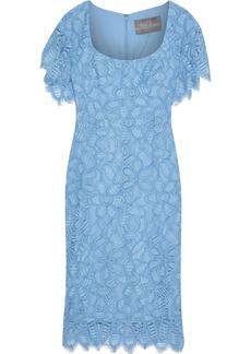Lela Rose Woman Corded Lace Dress Light Blue