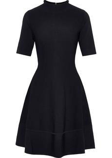Lela Rose Woman Flared Ponte Mini Dress Black