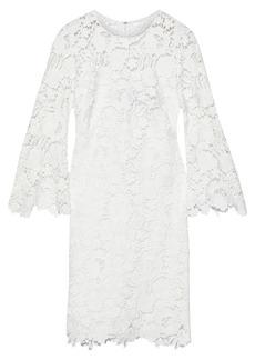 Lela Rose Woman Guipure Lace Dress White