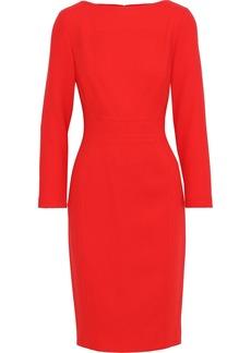 Lela Rose Woman Wool-blend Crepe Dress Tomato Red