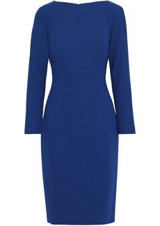 Lela Rose Woman Wool-blend Crepe Dress Royal Blue