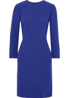 Lela Rose Woman Stretch-wool Crepe Dress Royal Blue