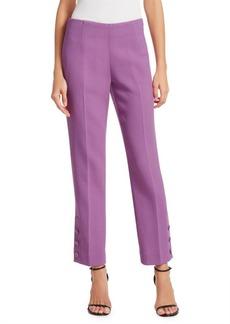 Lela Rose Button Cuff Pants