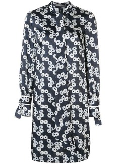 Lela Rose short printed dress