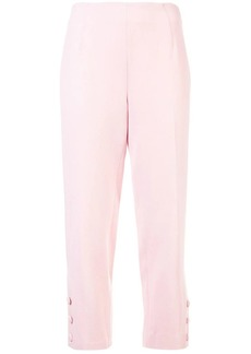 Lela Rose skinny cropped trousers