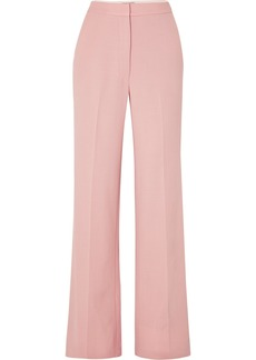 Lela Rose Wool-blend Wide-leg Pants