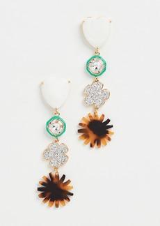 Lele Sadoughi Canopy Linear Earrings