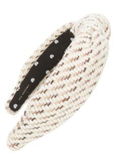 Lele Sadoughi Knit Knotted Headband