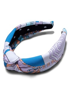 Lele Sadoughi Print Knotted Headband