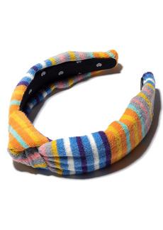 Lele Sadoughi Terry Knotted Headband