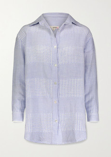 Lemlem Semira Cotton-gauze Shirt