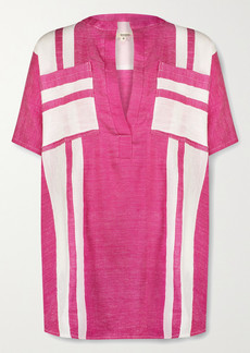 Lemlem Zoya Striped Cotton-voile Tunic