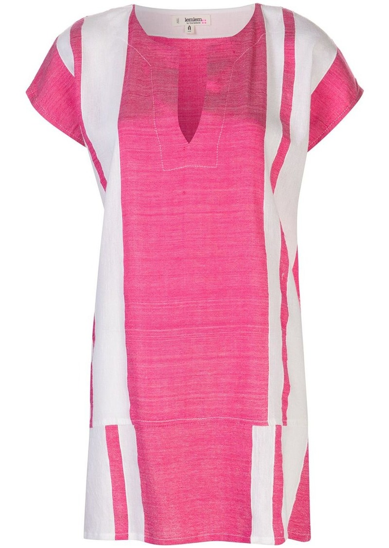 Lemlem Zoya striped tunic dress