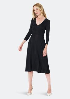 Leota Eliza Dress In Luxe Jersey Black - M - Also in: S, XS