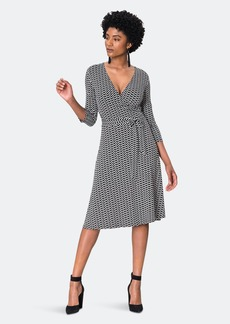 Leota Perfect Wrap Dress - XL - Also in: S