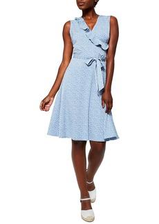 Women's Leota Felicity Sleeveless Ruffle Wrap Dress