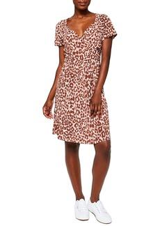 Women's Leota Sweetheart Faux Wrap Dress