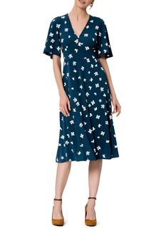 Women's Leota Zoe Flutter Sleeve Midi Dress