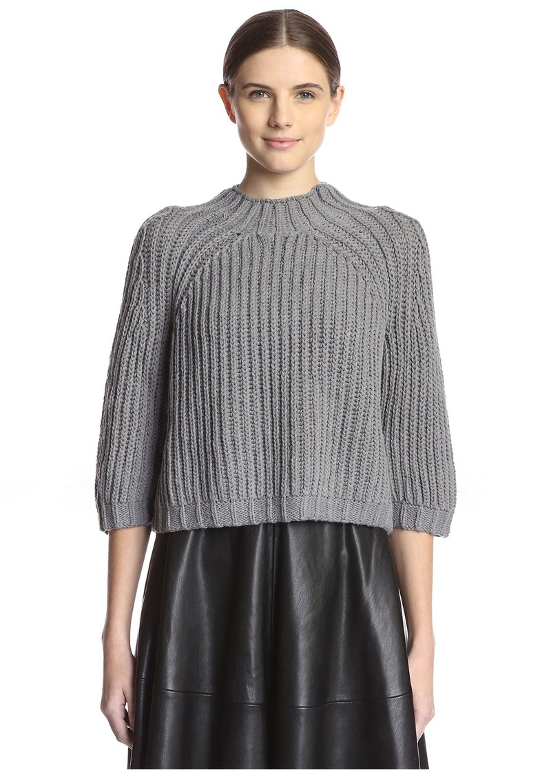 Les Copains Women's Chunky Sweater  L