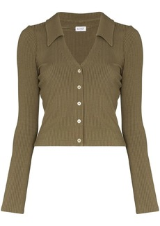 LESET Ali ribbed buttoned cardigan