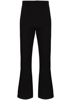 LESET high-rise flared trousers