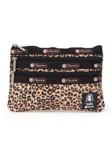 LeSportsac 3-Zip Cosmetic Bag