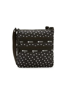 LeSportsac Candace Heart Print Pouch Shoulder Bag