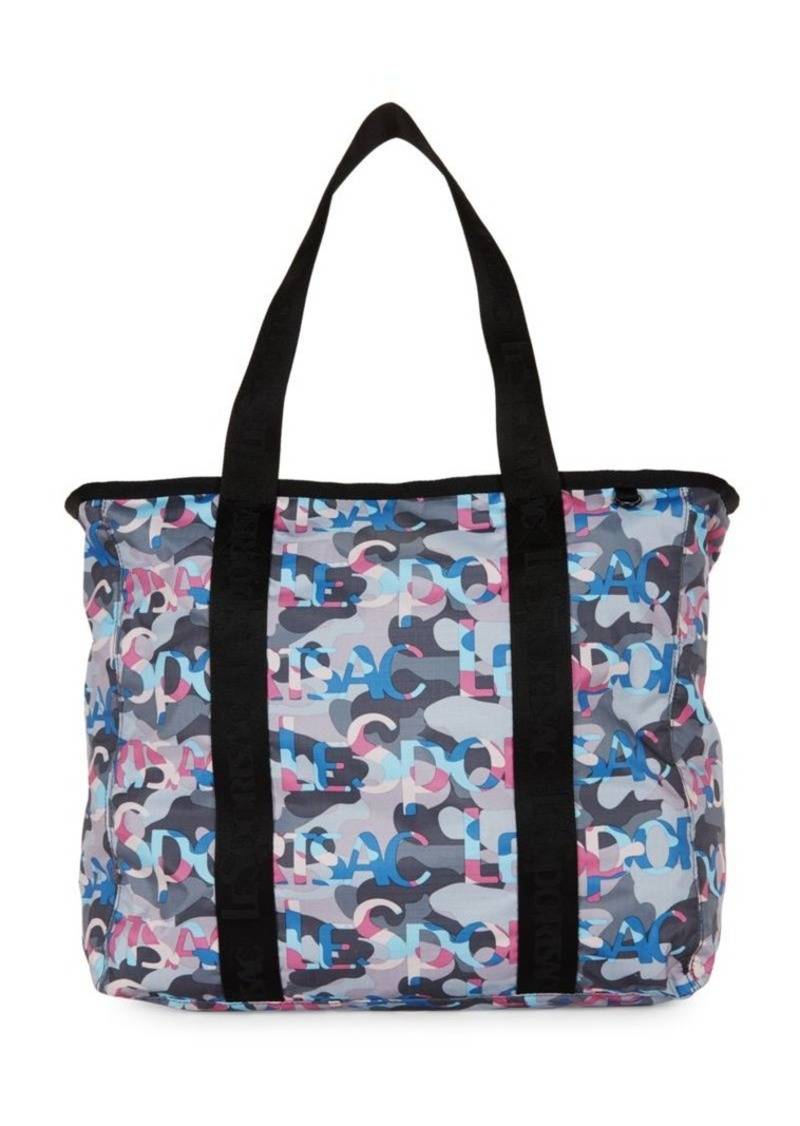 LeSportsac Camouflage Top-Zip Tote