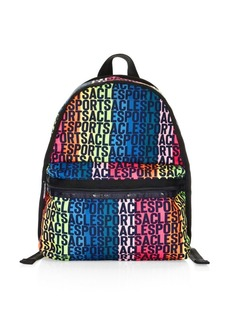 LeSportsac Candace Rainbow Logo Backpack