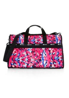 Lesportsac x Baron Von Fancy Classic Tie-Dye Weekender Bag