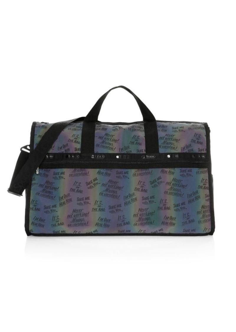 Lesportsac x Baron Von Fancy Classic Weekender Duffel Bag
