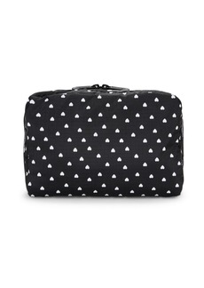 LeSportsac Large Candace Heart-Print Cosmetic Bag