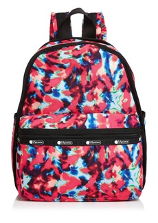 LeSportsac Baron Von Fancy x LeSportsac x PINTRILL Tie-Dyed Backpack