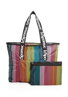 LeSportsac Candace North/South Rainbow Stripe Tote