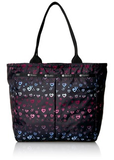 LeSportsac Classic Everygirl Tote Handbag heartbeat