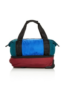 LeSportsac Dakota Color-Block Nylon Roller Duffel Bag