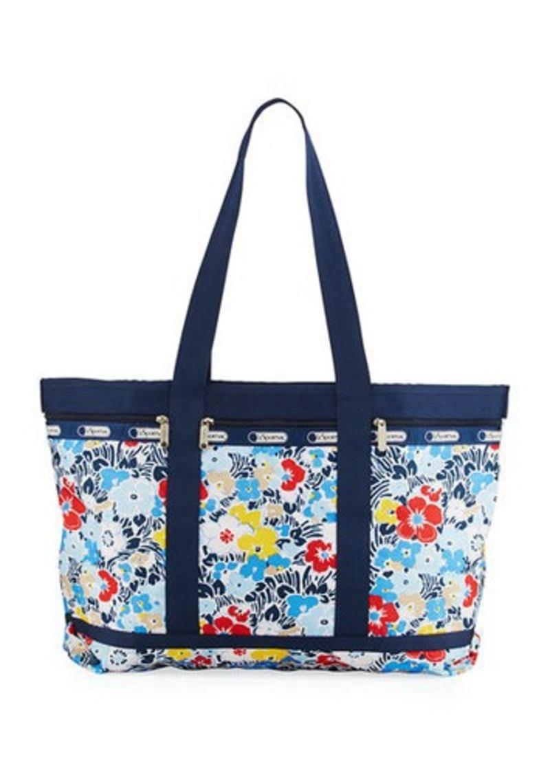 Lesportsac East West Nylon Travel Tote Bag