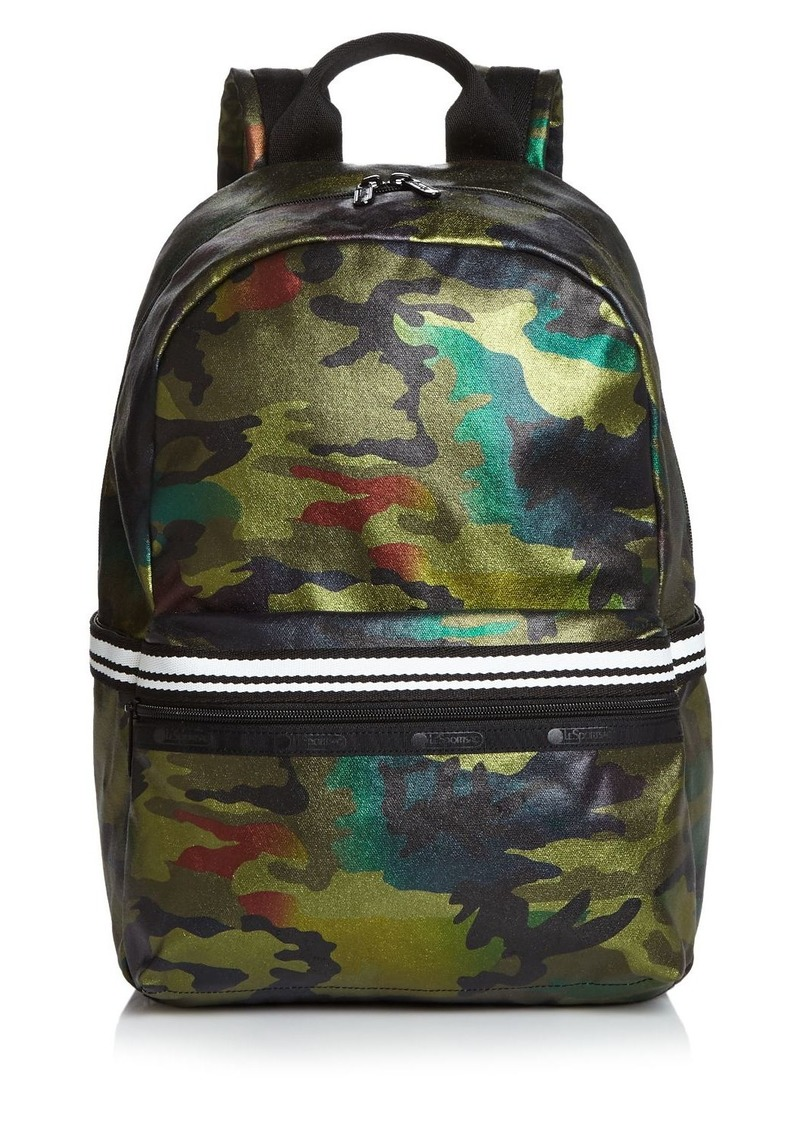LeSportsac Jasper Metallic Camo Backpack