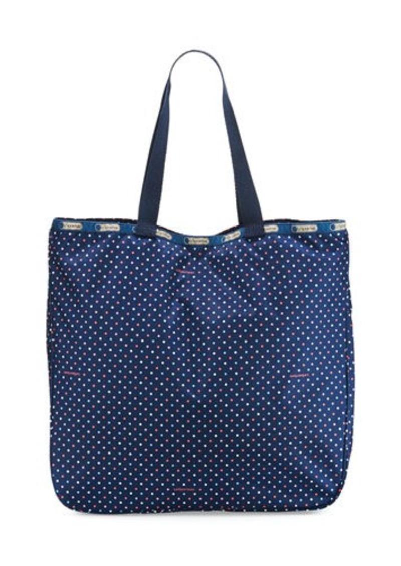Lesportsac Le Zip Polka Dot Tote Bag