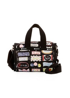 Lesportsac Mini Graphic-Print Weekender Bag
