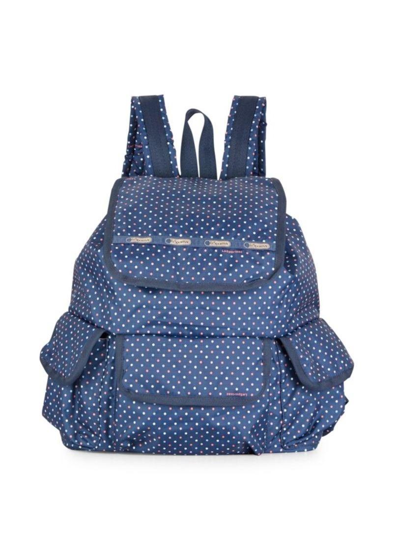 LeSportsac Polka Dot Explorer Backpack