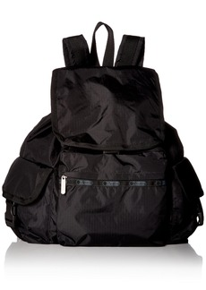 LeSportsac Women's Classic Voyager Backpack Black