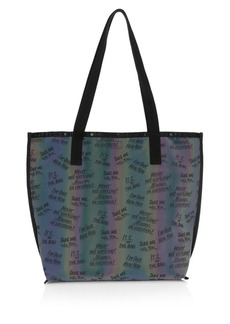 Lesportsac x Baron Von Fancy Reversible Slogan Tote Bag