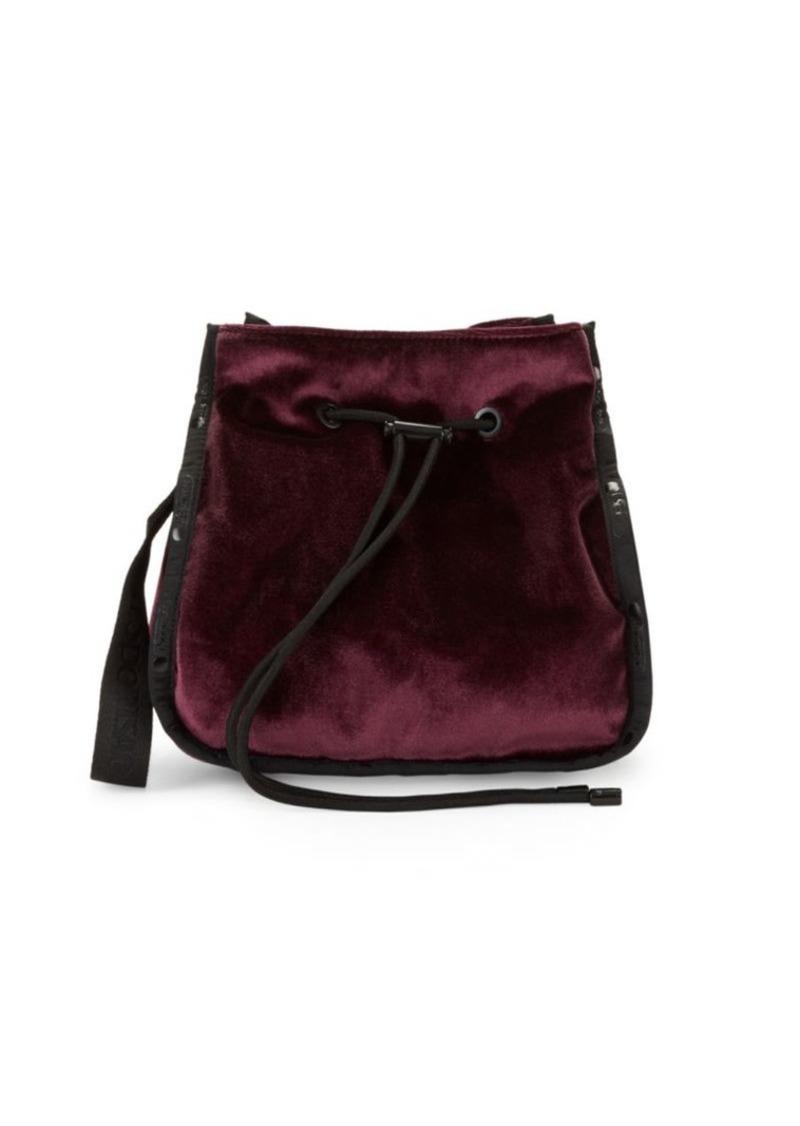 LeSportsac Nadine Velvet Bucket Bag