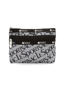 LeSportsac Small Taylor Logo Zip Clutch