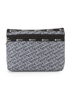 LeSportsac Large Taylor Logo Printed Pouch