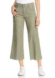 Level 99 Anabelle Cropped Wide-Leg Pants